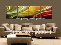 Framed & Stretched Oil Painting Abstract 120cmx40cm Maodern Canvas Hand-painted wall art Deco Art GY006