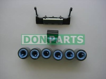 Maintenance Roller Kit 8pcs for HP LaserJet 4000 4050 Paper Jam Repair Tray 1/2