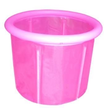 Jkhappy70 70 sponge aerosphere pump folding tub folding bathtub bath bucket bath bucket