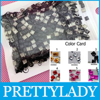 Free shipping 4*4mm Black Square Shape Stud 3D Nail Metallic Decoration Metal alloy Nail Art 1000pcs/bag Wholesale ND-038A