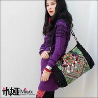 2013 New Arrival Miya Bags Vintage Hmong Embroidery Handbags Fashion Bohemian Bag