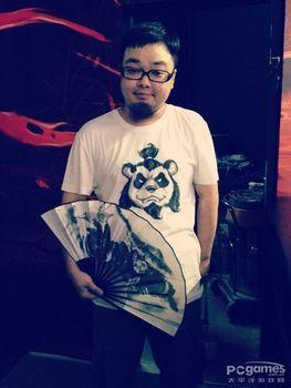 WOW, World of Warcraft Original Pandaren Brewmaster hand folding fan, CHINA STYLE,  FAST SHIPPING