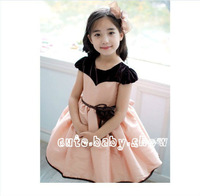 2013 New Arrival! Baby Girls Summer princess dress Children short sleeves Child Kids dress Free shipping!