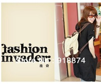 Canvas bag 2013 package Korean version of the new influx of men and women style handbag Shoulder schoolbag