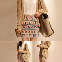 new arrival national partysu trend half-length slim hip bust skirt Free shipping