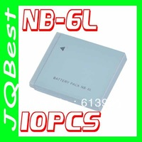 10pcs 1200mAh Li-ion Camera Battery NB-6L NB6L for Canon IXY 110 PowerShot SD980