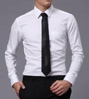 shirt men white shirt,Promotional factory direct men long-sleeved dress shirt business