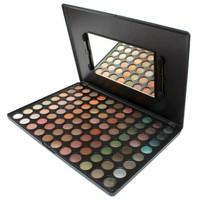 Coastal scents eye shadow 88 plate illusiveness eye shadow disk pearl makeup palette
