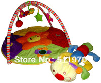 Free Shipping Retail Baby Caterpillar musical carpet baby soft mat tv game mat soft play sponge pvc non-slip mat christmas gift