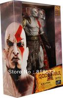 "B6  God of war kratos 12""  push button sound action figure toy model NECA"