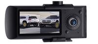 "2.7""140  Dual Lens dash board camera car dvr black box video recorder+ gps logger"