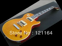 New ELECTRIC Guitars abalone inlay neck yellow 110226 - Best guitar supreme model
