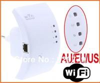 2013 Hotest!!!!!!Wireless-N Wifi Repeater 802.11N/B/G Network Router Range Expander   300M  2dBi Antennas US/EU/AU Plug