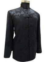 Fashion Chinese Tradition Men Dragon Kung Fu Shirt Jacket/Coat Vest M-3XL