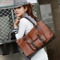 Women's  2013 winter vintage bags candy color casual    student  women's handbag