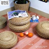 Steel cytoskeleton pudeng straw braid bush-rope knitted futon tatami cushion thickening piaochuang pad windowsillxia pad