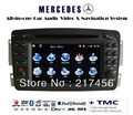 1998-2002 Mercedes Benz E W210  GPS DVD Radio HD Screen PIP TMC Navigation player(China (Mainland))