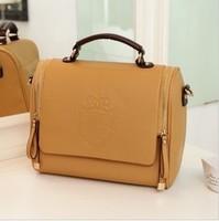 2013 fashion female vintage  fashion shoulder bag  messenger bag  brief women's bags messenger bag