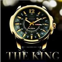 Free Shipping Julius Men's Wrist Watch Quartz Round Fashion MAN style, King Style