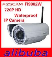 FOSCAM FI9802W 720P HD Waterproof IP Camera megapixel outdoor H.264 IPCAM FREE DDNS WEBCAM
