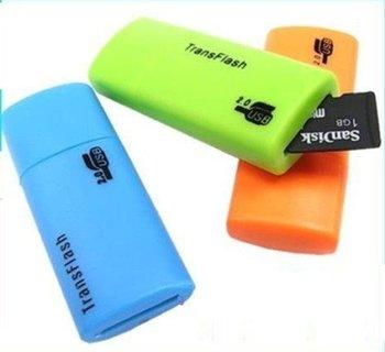 MICRO SD SDHC MEMORY CARD USB ADAPTER READER TFLASH