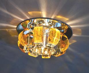 Crystal lamps entranceway lighting corridor lights spotlights recessed downlight crystal stair lamp led