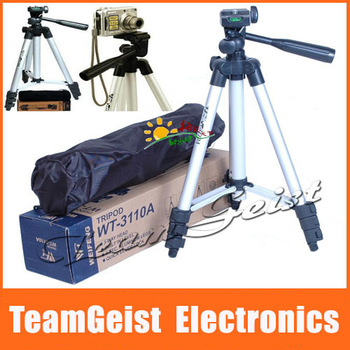 100% Brand NEW Digital Camera tripod PTZ portable SLR Camera DV Scalable tripod for Telescope with Original BAG Free Shipping