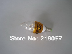 3W E14 SUPER BRIGHT LED Candle liht(China (Mainland))