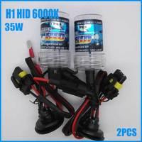 2013 Superbright 12V 35W HID Xenon Bulb lamp kit H1 6000K Car Auto Head Light Headlight Bulbs Lamp