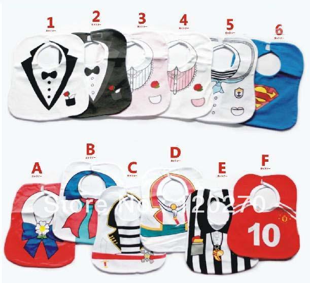 Aliexpress.com: Comprar Monril Cartoon diseño bebés baberos para ...