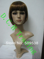 Plastic Female Mannequin Head For Wig ,Glasses ,Jewelry  Mannequin Head Display 1pcs/lot