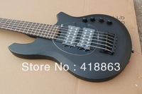 New Arrival black music man 6 string bass Electric bass Guitar !! Free shipping