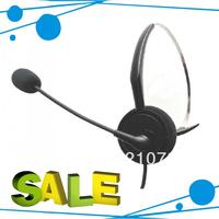Freeshipping Professional call center headset direct with RJ09 plug , telephone earphone , Telephone headset