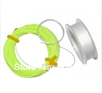 Free shiping!! 1 set fly fishing line/Fly line+Extended line+Wire lead line+Cable head --Set 2