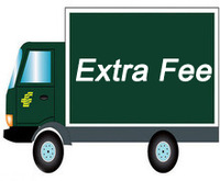 extra fee for freight or product price