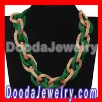 Cheap Rock Punk Choker Chunky Curb Chain Necklace for women Free Shipping, 2pcs/lot