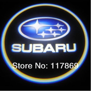 Subaru LOGO Car LED Mark Ground Projecting Brake Lamp Chassis Frame Running Light For Legacy Outback Impreza Forester XV etc