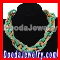 Fashion Rock Punk Chunky Curb Chain Choker Necklaces 2013 Free Shipping, 2pcs/lot