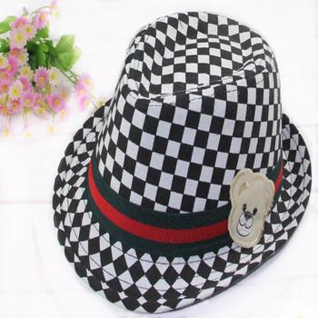 15$Mini Order Spring and summer hat british style bonnet male jazz hat sun hat bucket hat fedoras child