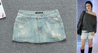 Women's spring summer new denim skirt