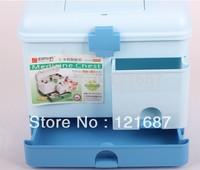 Family health kits drug box blue