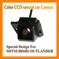 Promotion CCD night vision orginal car hole auto car cameras DVD GPS car rear camera rearview camera for Mitsubishi Outlander