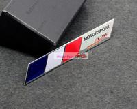 France national flag Emblems Badge Motor Sport Racing Sticker Rear For Peugeot Renault Citroen Free Shipping High Quality
