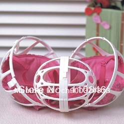 2 Pcs White Bra Washing Ball Laundry Washer Bubble Bra Baby Ball As Seen On TV Free Shipping(China (Mainland))