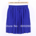 Free shipping women's chiffon skirts summer ice cream all-match lady cute short skirt Lovely pleated puff skirt #5349