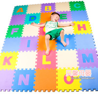 Eco-friendly child foam mats patchwork floor mats baby puzzle gadders digital letter crawling mat