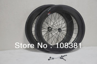 Full carbon road bike/bicycle 700c clincher carbon wheels 88mm carbon wheelset