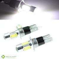 2x H3C  5-LED 7.5W  White 600lm Light Car Fog / Signal / Headlamp DC 12~24V