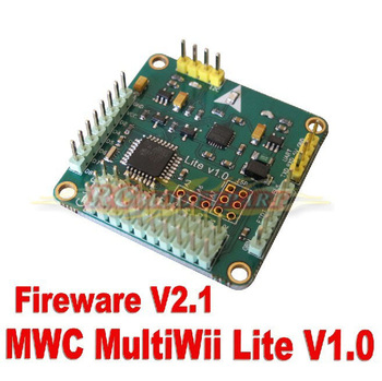 New Crius MWC MultiWii Lite V1.0 Flight Controller Board for Multicopter Quad-X