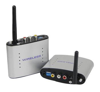 New 2.4GHz Wireless AV Transmitter and Receiver A/V Sender 4 Channels 150m  D2232D  Alishow